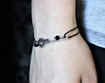 Commander/Heda Lexa Back Tattoo - The 100 Tattoo Bracelet - Rope