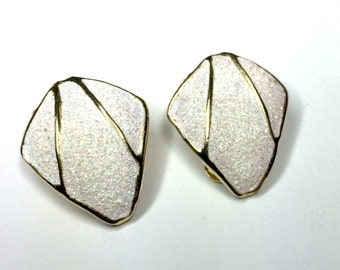 Vintage 1980's Sparkly Spanish Earrings