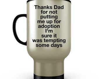 Fathers Day Gift From Daughter, Fathers Day Gift From Son, Dad Coffee Mug, Tumbler, Travel Mug, Dad From Daughter, Gifts For Dad From Kids
