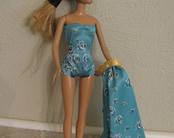Barbie doll clothes-beach party