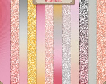 You're my lil girl Glitter and Ombres Papers Collab TSSA