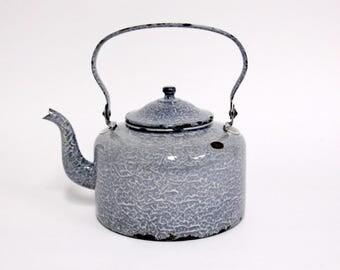 Grey Enamel Boiler-Water Boiler-Kettle