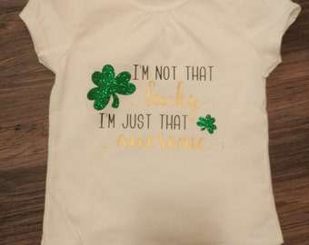 Toddler Girls St. Patrick's Day Shirt