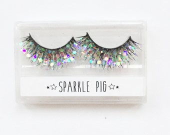 Unicorn Glitter Lashes