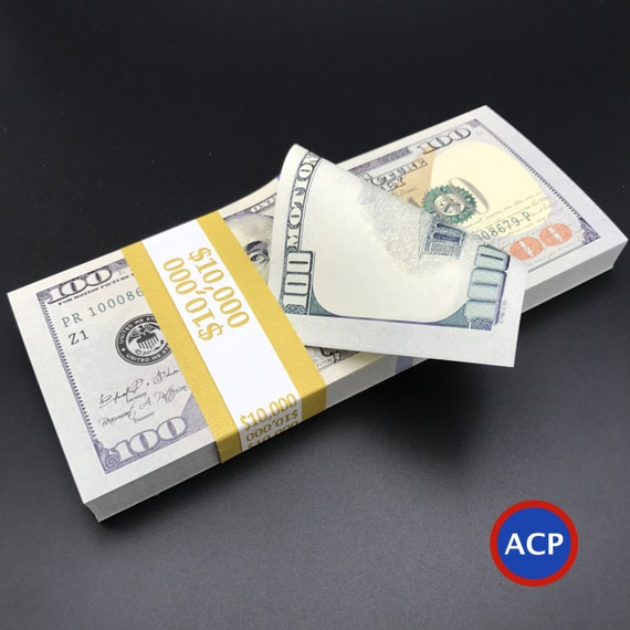100 dollar bill drop card template - 100 dollar bills 10000 dollars 10k stack by thebestpropmoney