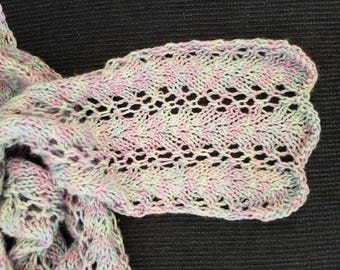 Wrap- into-Spring Lace Scarf