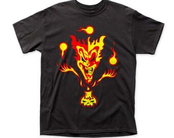 ICP Insane Clown Posse The Amazing Jeckel Brothers Print Men's Cotton Shirt (ICP04)