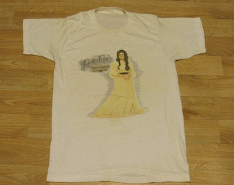 Vintage Loretta Lynn 70s shirt coal minters daughter 1970's country tshirt