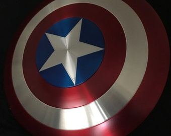 "24"" Captain America Shield Aluminum"