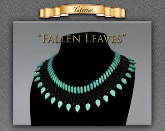 "Tutorial/pattrern for ""Fallen Leaves"""