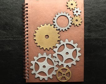 Steam Punk Decorated Note Book Journal