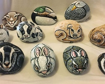 Farm Animal Pebble Pets