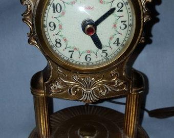 United vintage very ornate clock