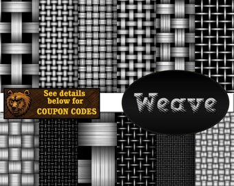 weave digital paper, basket weave, digital paper, scrapbook paper, background
