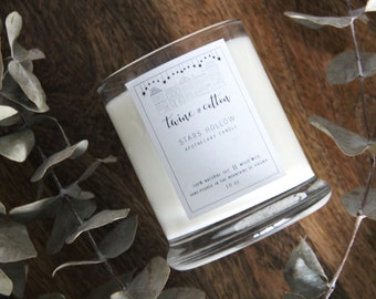 Stars Hollow || Wood Wick Apothecary Candle