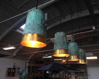 TISJA brass oxidized lighting