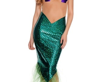 Lavish Fish Mermaid Costume