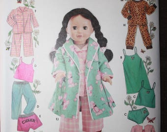 Simplicity 5276   Elaine Heigl Design  18 in Doll Clothes