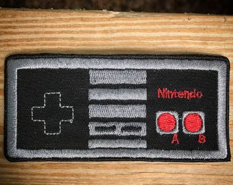 Old school Nintendo NES remote sew on iron on patch