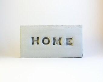 HOME grey brick