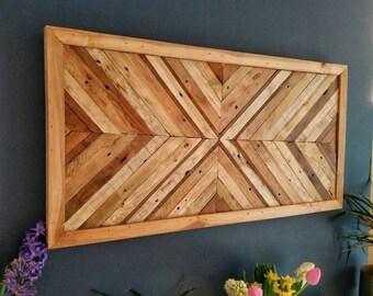 Mark 15 Wooden Wall Art, Wood Art, Rustic, Wall Hanging, bedroom décor, wooden wall sculpture, modern art, Contemporary art