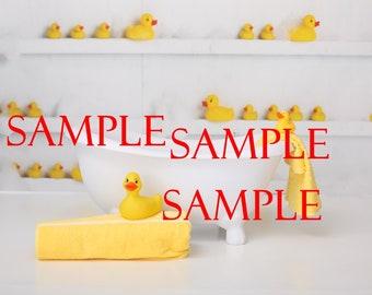 digital bath tub background /composite