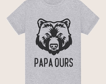 """Papa bear"" father's day tshirt fathers day gift"