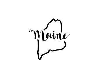 Maine - printable download