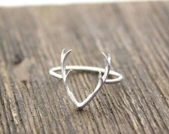 Deer Antler Ring