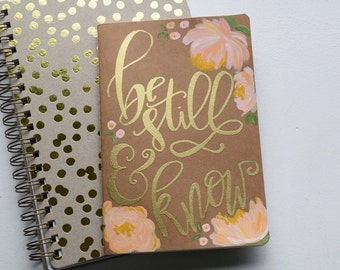 Hand Painted Prayer Journal 8 in. x 5 in.