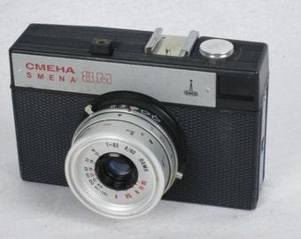 Excellent Lomo SMENA 8M 35mm Camera F/ 4 40mm Lomo lens Soviet Russian Compact - Lomography