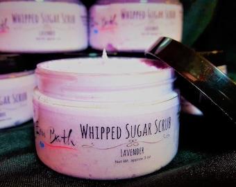 Lavender Whipped Sugar Scrub