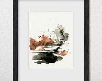 Eruptions and Chasms - Original Art