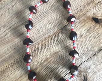 Regular-Buckeye Necklace
