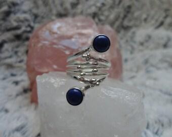 ring lapis, size 52
