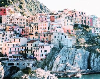 Travel Photography Original Print Manarola Cinque Terre Italy