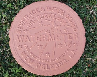 New Orleans Water Meter - Terra Cotta Finish