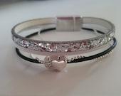 "Bracelet cuir femme ""ICE"" : collection Prestige"