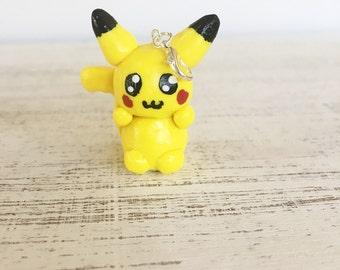 Pikachu Inspired Charm