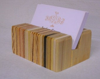 Business Card Holder, Business Cards, Business Card Stand, Business Card Case, Wood Business Card Holder, Business Card Holder for Desk