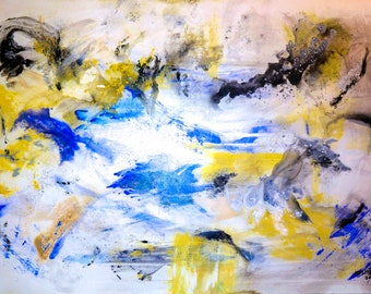 Abstract Photograph of Painting