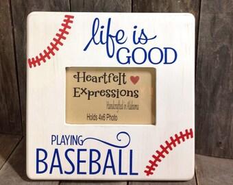 Baseball Picture Frame, Baseball Photo Frame
