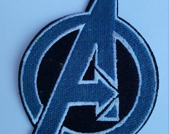 Avengers Logo Marvel Movie Iron On Sew On Patch
