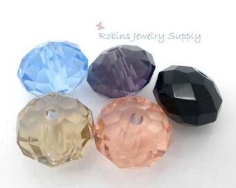50 pcs - Mixed Glass Beads - Round Glass Beads - 10mm Glass Beads - Crystal Glass Beads - Jewelry Beads - Beads - Glass Beads - B0020