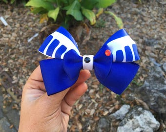Star Wars R2D2 Inspired Hair Bow