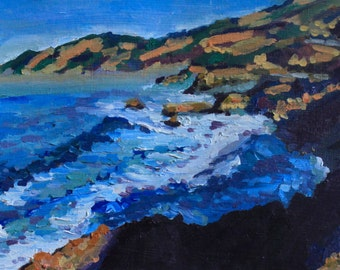 Big Sur original oil painting
