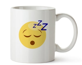 Emoji Mug – Printed Coffee Mug With Emoticon – Funny Gifts For Friends - Christmas Gift