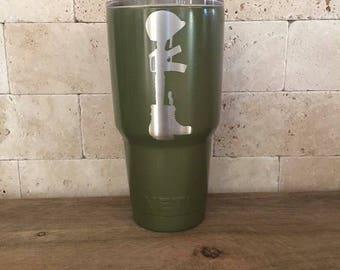 Military green yeti