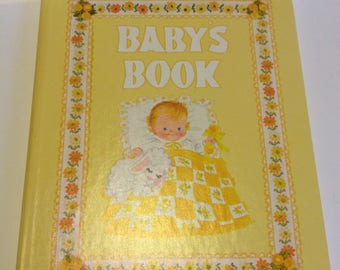 Vintage Unused 1973 Baby Record Book