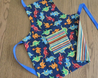 Dinosaurs and Stripes - Reversible